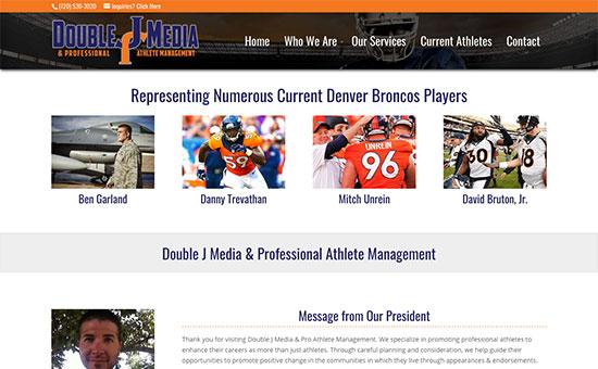 Double J Media & Pro Athlete Management